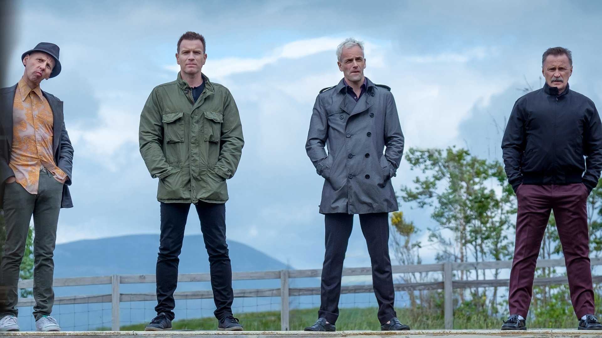 Cast of T2 Trainspotting